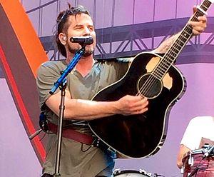 Matt Nathanson - Nathanson on May 21, 2015 at Sleep Train Amphitheatre at Sacramento in Marysville, CA