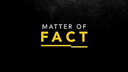 Matter of Fact with Stan Grant...
