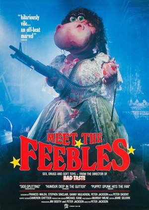 Meet the Feebles - DVD cover