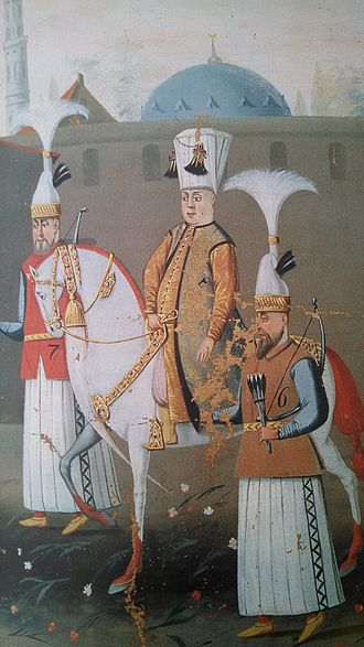Mehmed IV - Mehmed IV as a teenager, on procession from Istanbul to Edirne in 1657