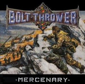 Mercenary (album) - Image: Mercenary (album) cover