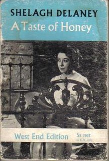 <i>A Taste of Honey</i> 1958 play written by Shelagh Delaney