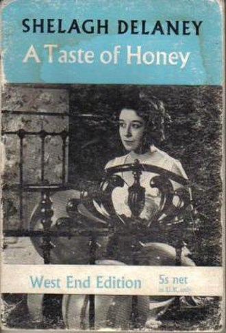 "A Taste of Honey - ""Methuen's Modern Plays"" 1959 paperback front cover"