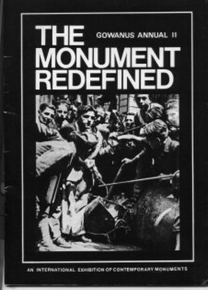 Gowanus Memorial Artyard - Poster seen around New York