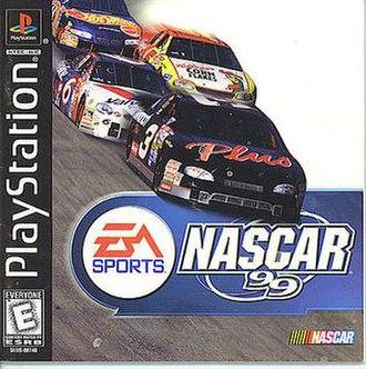 NASCAR 99 - North American PlayStation cover art