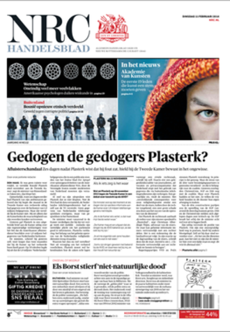 NRC Handelsblad - Image: NRC Handelsblad Tuesday 2014 02 11 new layout