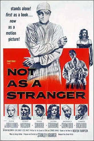 Not as a Stranger - Theatrical release poster
