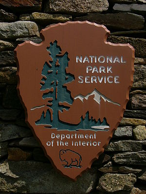 Photo of National Park Service sign