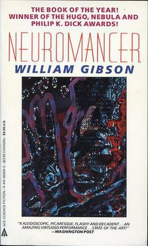 Rick Berry (artist) - First digitally painted book cover for Neuromancer.