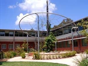North Sydney Girls High School - School gardens.