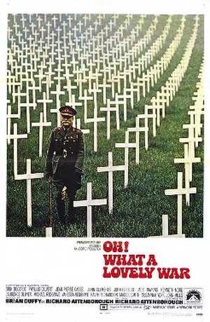 Oh! What a Lovely War - Theatrical release poster