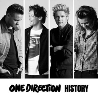 History (One Direction song) - Image: One Direction History (Official Single Cover)