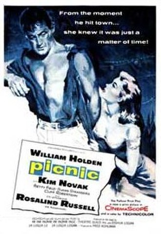 Picnic (1955 film) - Image: Original movie poster for the film Picnic