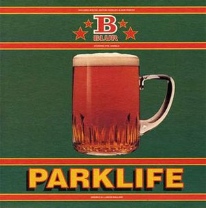 Parklife (song) - Image: Parklife cover
