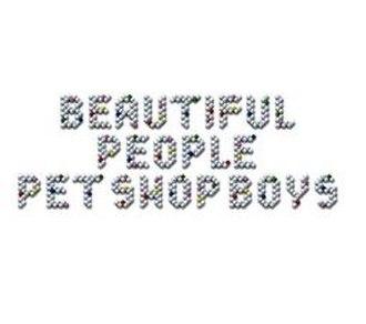 Beautiful People (Pet Shop Boys song) - Image: Pet Shop Boys Beautiful People Cover