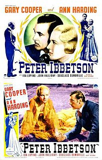 <i>Peter Ibbetson</i> 1935 film by Henry Hathaway