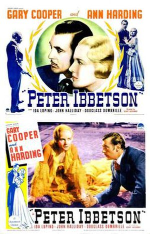 Peter Ibbetson - Theatrical release poster