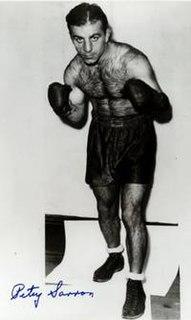 Petey Sarron American boxer