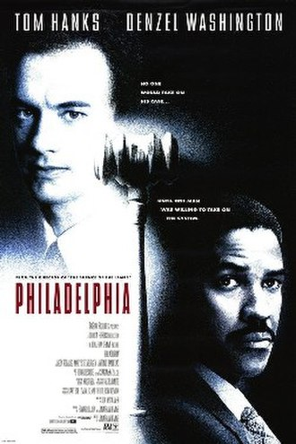 Philadelphia (film) - Theatrical release poster