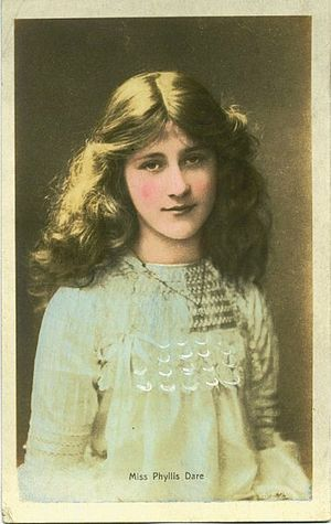 Phyllis Dare - Dare as a child actress