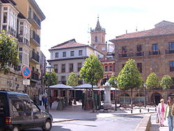 Riego Square in Oviedo