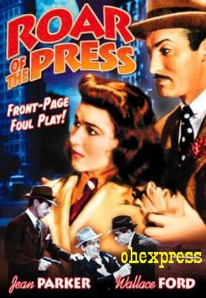 Roar of the Press - Image: Poster of the movie Roar of the Press