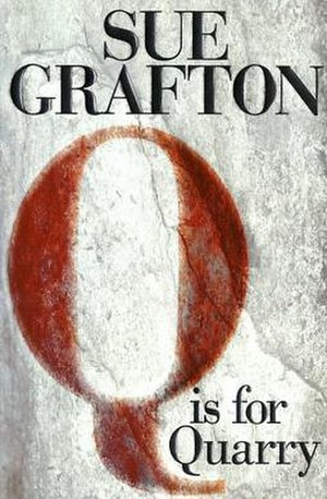 """Q"" Is for Quarry - First edition cover of the book ""Q"" Is for Quarry by Sue Grafton"