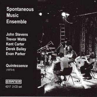 Quintessence (Spontaneous Music Ensemble album) - Image: Quintessence (Spontaneous Music Ensemble album)
