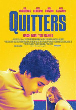Quitters - Theatrical release poster