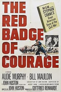 <i>The Red Badge of Courage</i> (film) 1951 film by John Huston