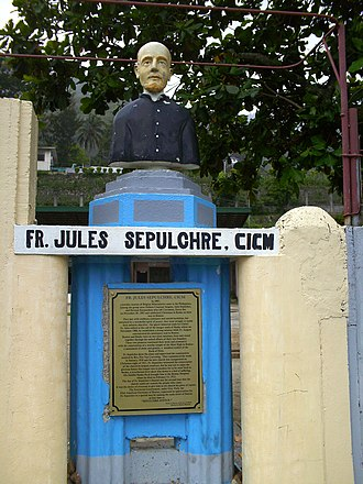 CICM Missionaries - Image: Relief of Fr. Jules Sepulchre in the Philippines