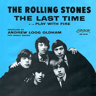 Play with Fire (The Rolling Stones song) - Image: Roll Stones Single 1965 The Last Time
