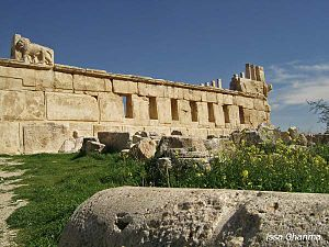 History of Jordan - An old Roman Temple in Erak al Amir