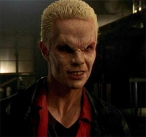 "Spike (Buffy the Vampire Slayer) - Spike's first appearance in the episode ""School Hard"" (1997)."