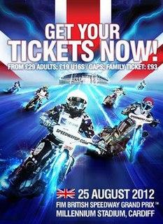2012 Speedway Grand Prix of Great Britain