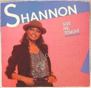 Give Me Tonight - Image: Shannon Give Me Tonight