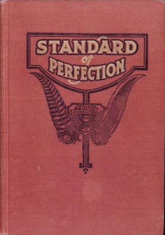 American Standard of Perfection - The cover of the 1930 edition