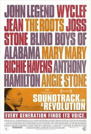 Soundtrack for a Revolution - Promotional film poster