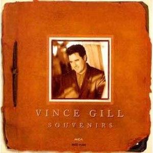 Souvenirs (Vince Gill album) - Image: Souvenirs Vince Gill