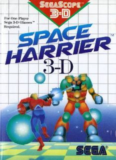 <i>Space Harrier 3-D</i> 1988 video game