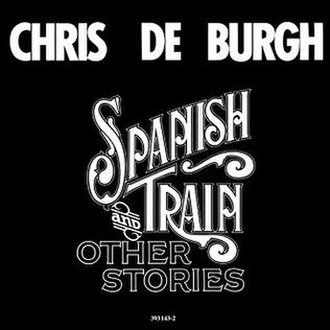 Spanish Train and Other Stories - Image: Spanishtraincover