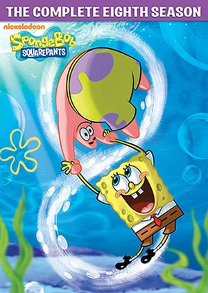 SpongeBob SquarePants (season 8) - DVD cover