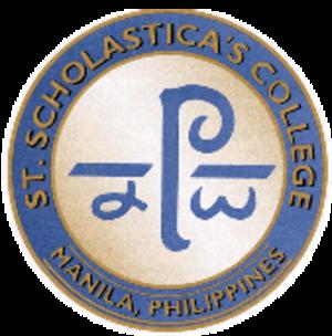 St. Scholastica's College, Manila - Image: St. Scholastica's College Manila (seal)