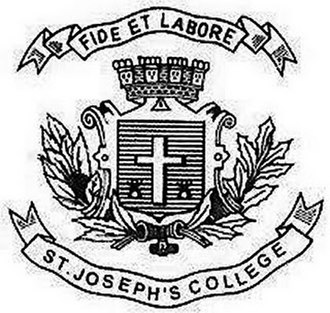 St Joseph's College, Bangalore - Image: St josephs logo