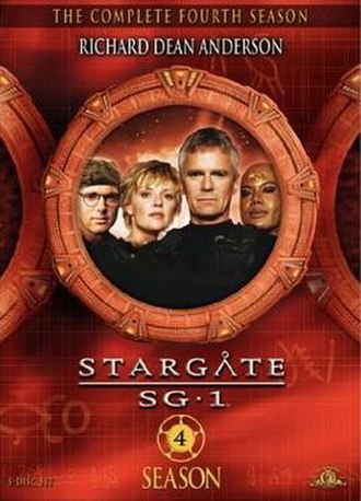 Stargate SG-1 (season 4) - DVD cover