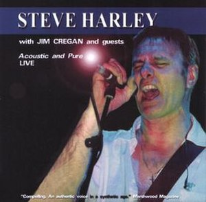 Acoustic and Pure: Live - Image: Steve Harley Acoustic and Pure Live 2002 Album Cover