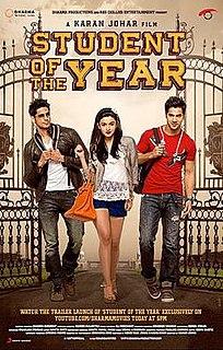 <i>Student of the Year</i> 2012 film by Karan Johar