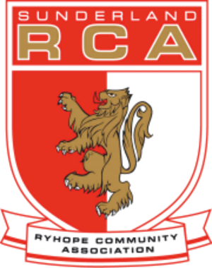 Sunderland Ryhope Community Association F.C. - Image: Sunderland Ryhope Community Association F.C. logo