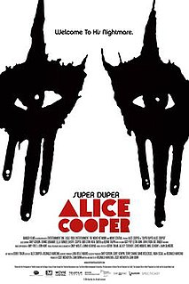 <i>Super Duper Alice Cooper</i> 2014 Canadian biographical documentary film
