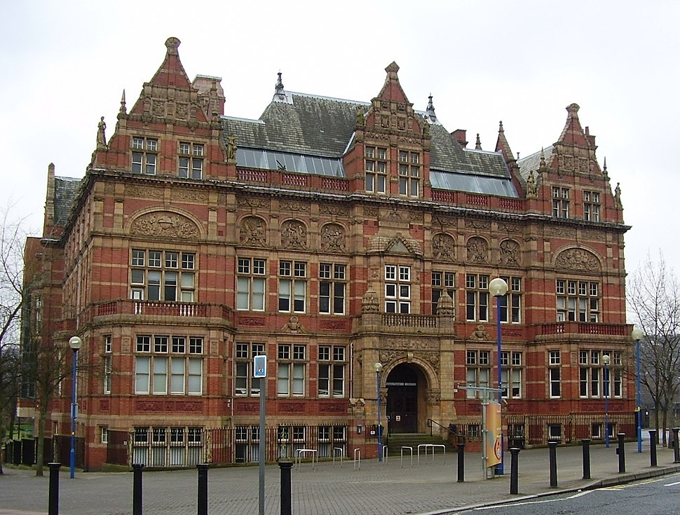 Technical School Building Blackburn Lancashire